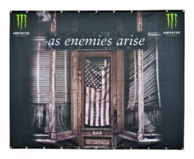 monster energy backdrop heavytex