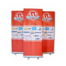 roll-up banner wordcamp