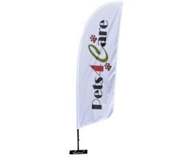 beachflag size s