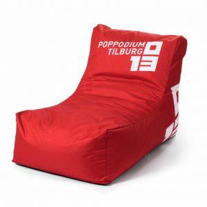 loungebed met logo