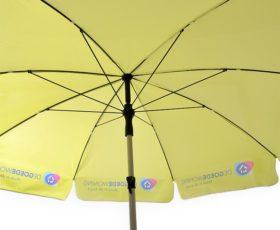 bedrukte parasols