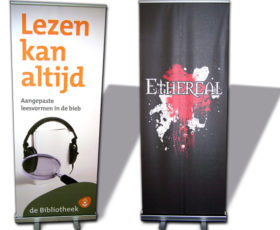 Roll-up banners - display & beursmaterialen
