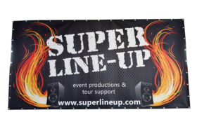 Super line-up frontlit bouwhekdoek
