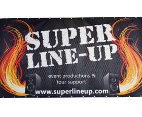 Super line-up frontlit bouwhekdoek