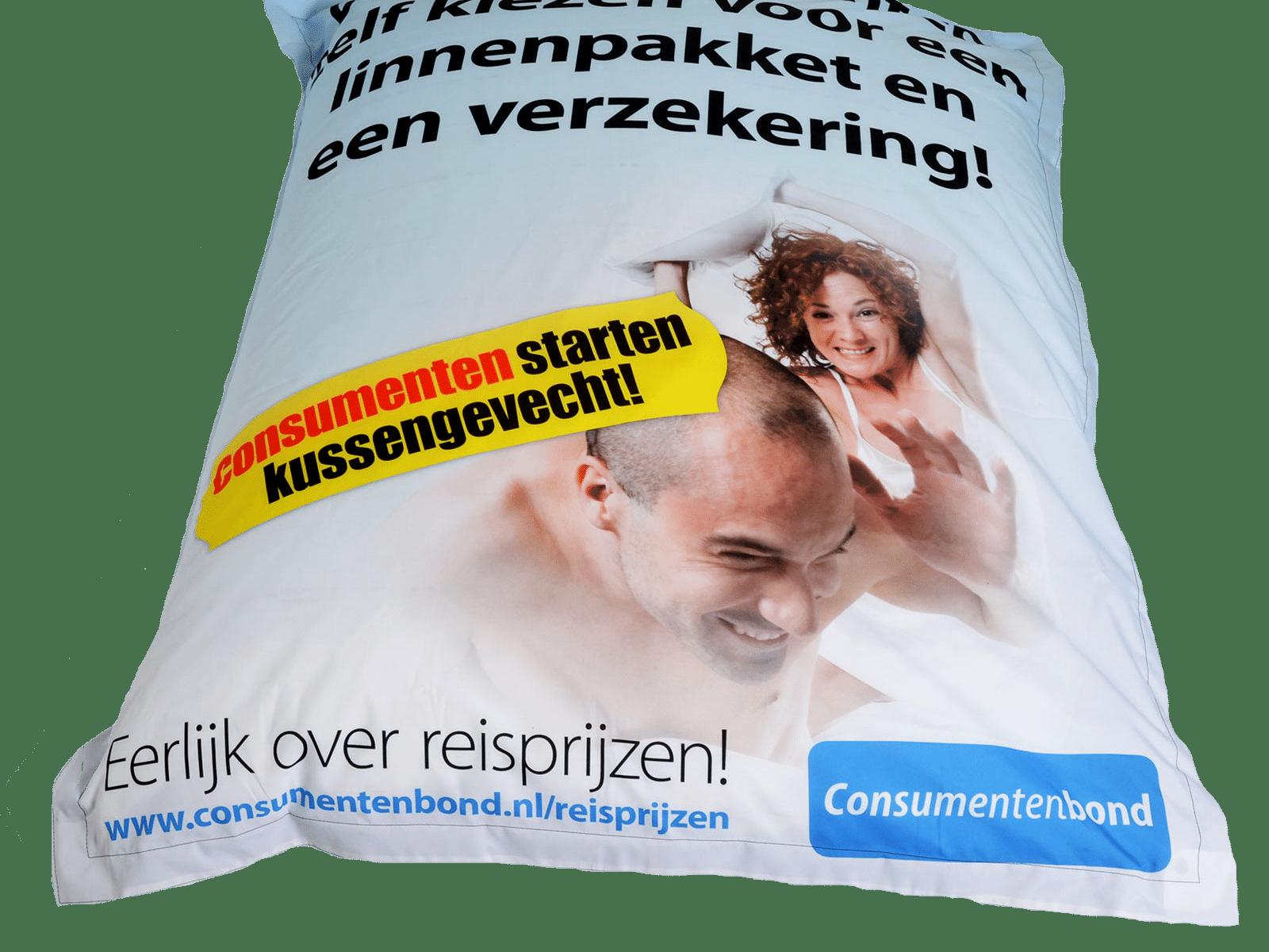 Beste Zitzak met logo - Spandoek Laten Maken.nl - Leverbaar binnen 1 week. LQ-23